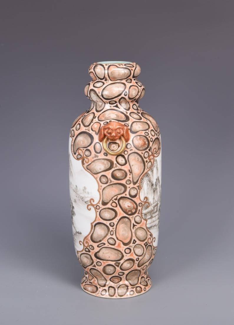 Korean Porcelain Vase with Mark - 10