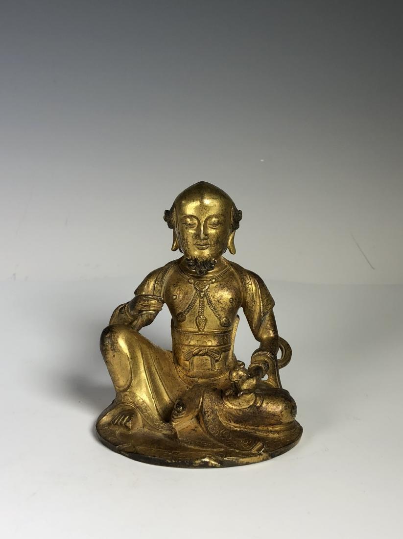 Gilt Bronze Figure