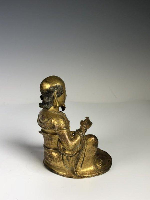 Gilt Bronze Figure - 4