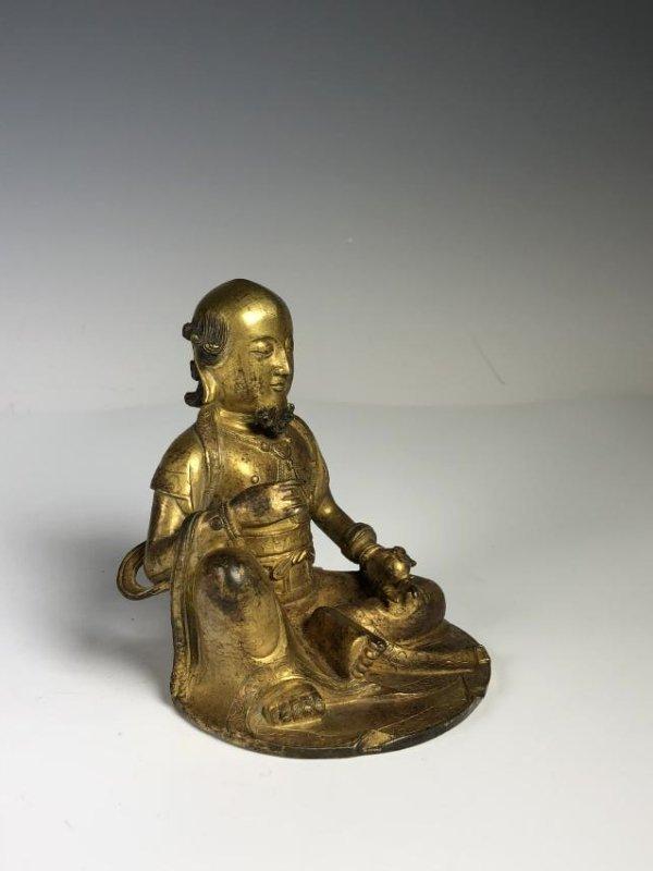 Gilt Bronze Figure - 5