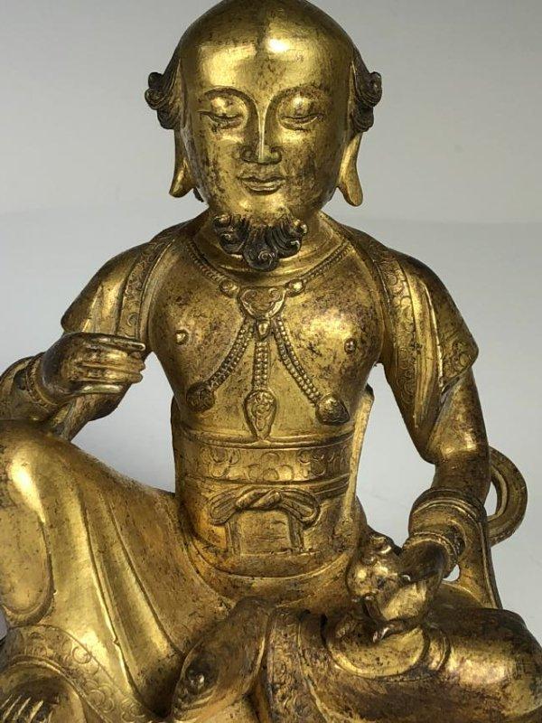 Gilt Bronze Figure - 6