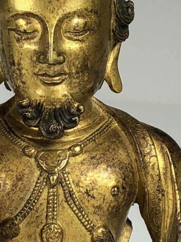 Gilt Bronze Figure - 7