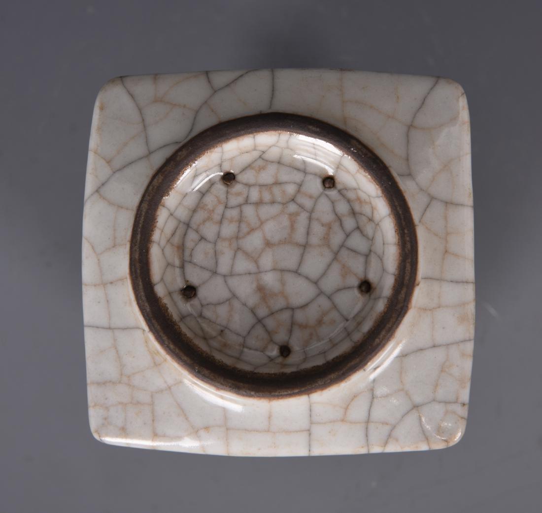 Porcelain GU Style Cong Vase - 8