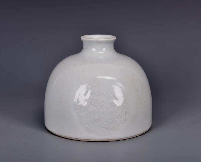 Porcelain Bee Hive Water Pot with Mark