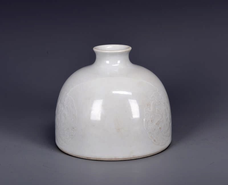 Porcelain Bee Hive Water Pot with Mark - 2