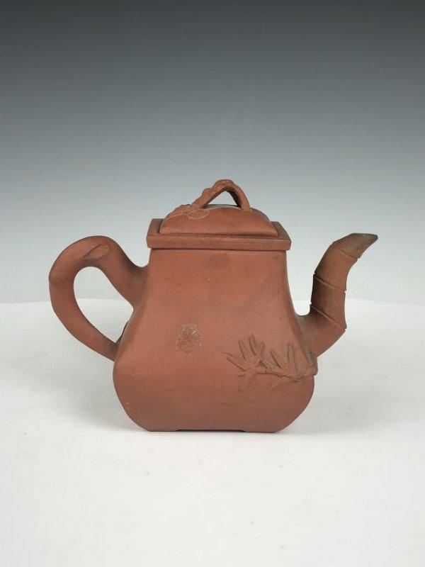 ZISHA Clay Tea pot with Mark - 4