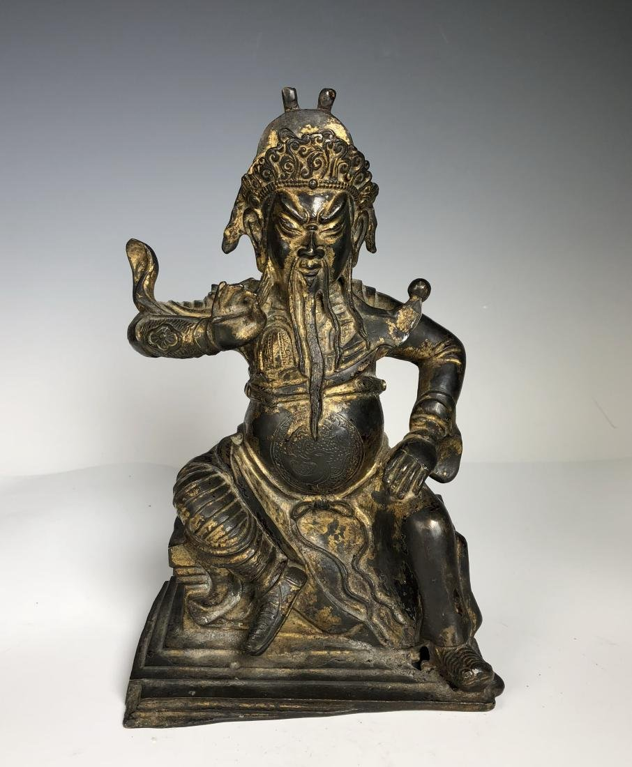 Gilt Bronze Figure of GUANYU