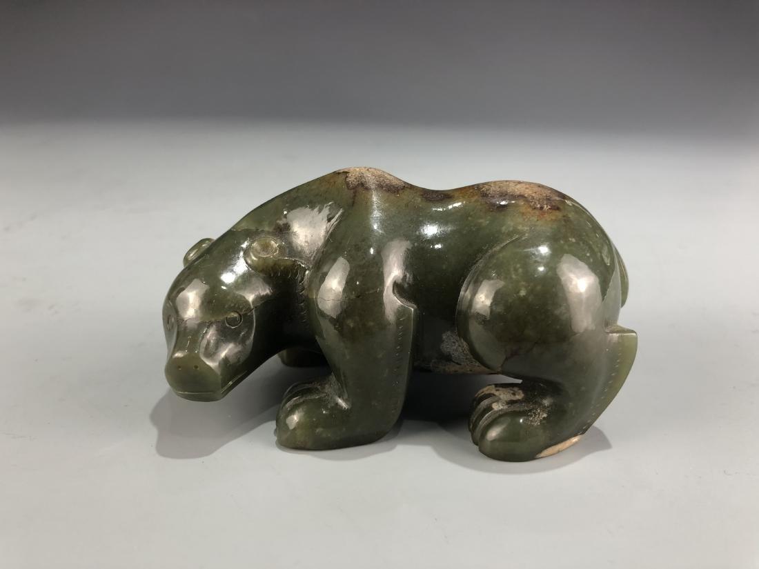 Green Jade Bear