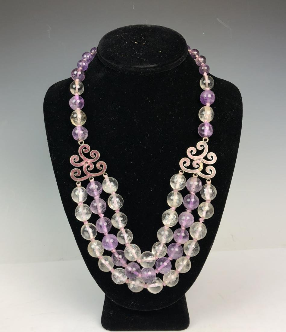 Glass Bead Necklace - 2