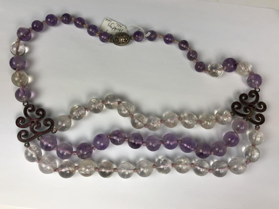 Glass Bead Necklace - 4