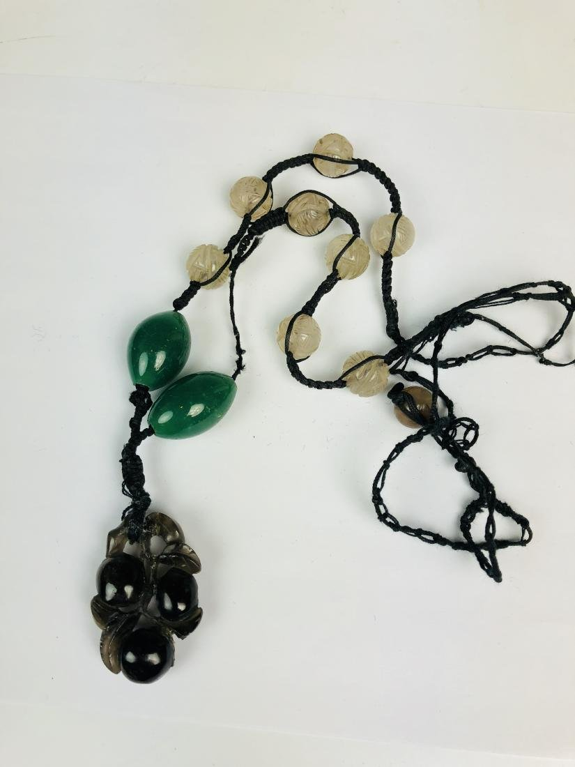 Glass Bead Necklace - 6
