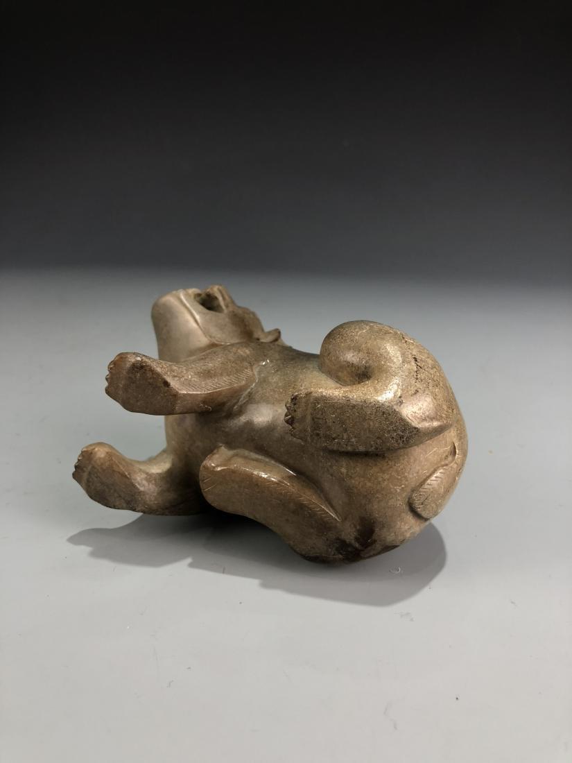 Carved Jade Beast - 5