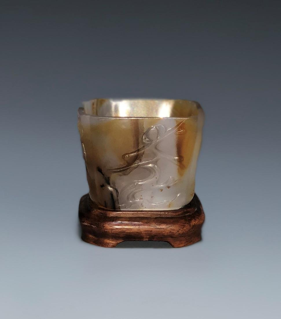 Square Agate Cup