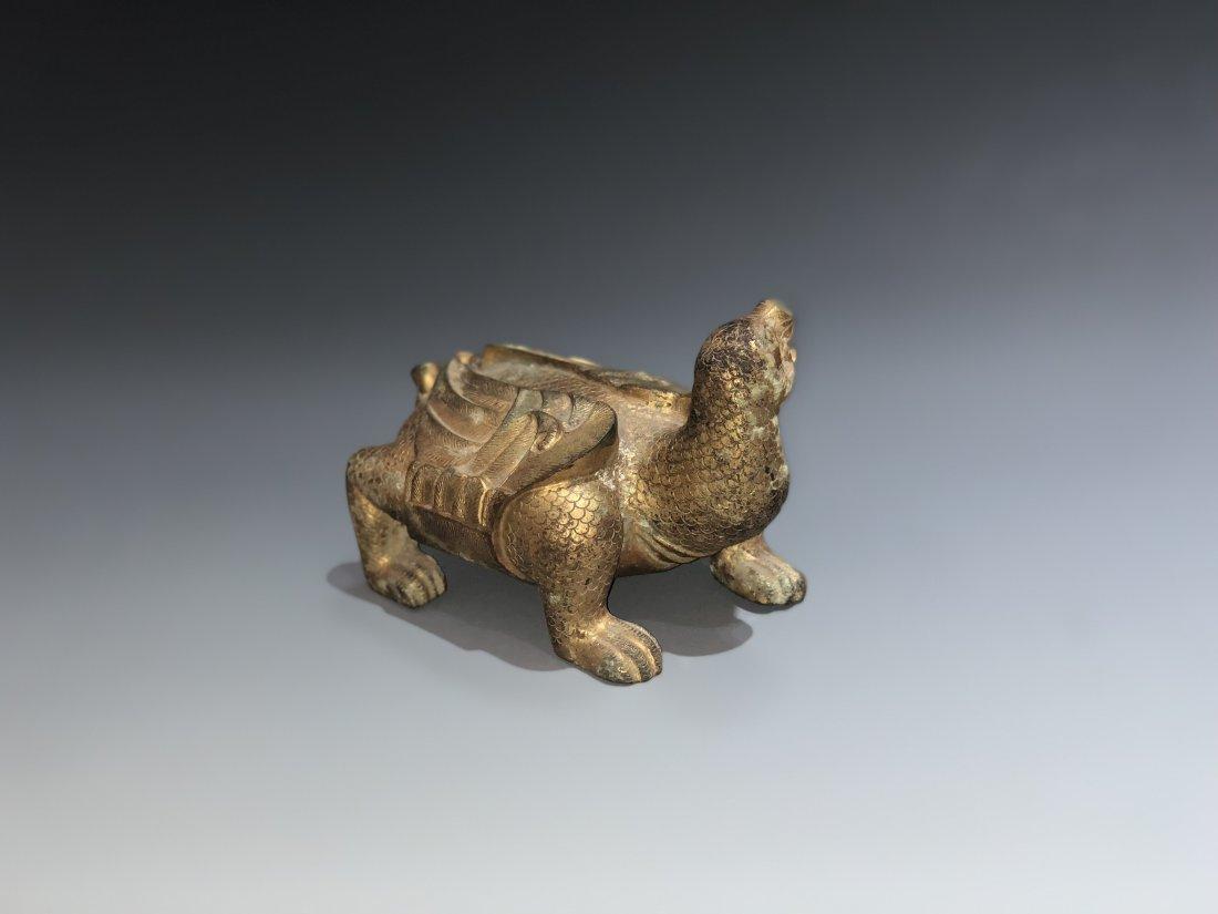 A Gilt Bronze Figure Of Animal - 5