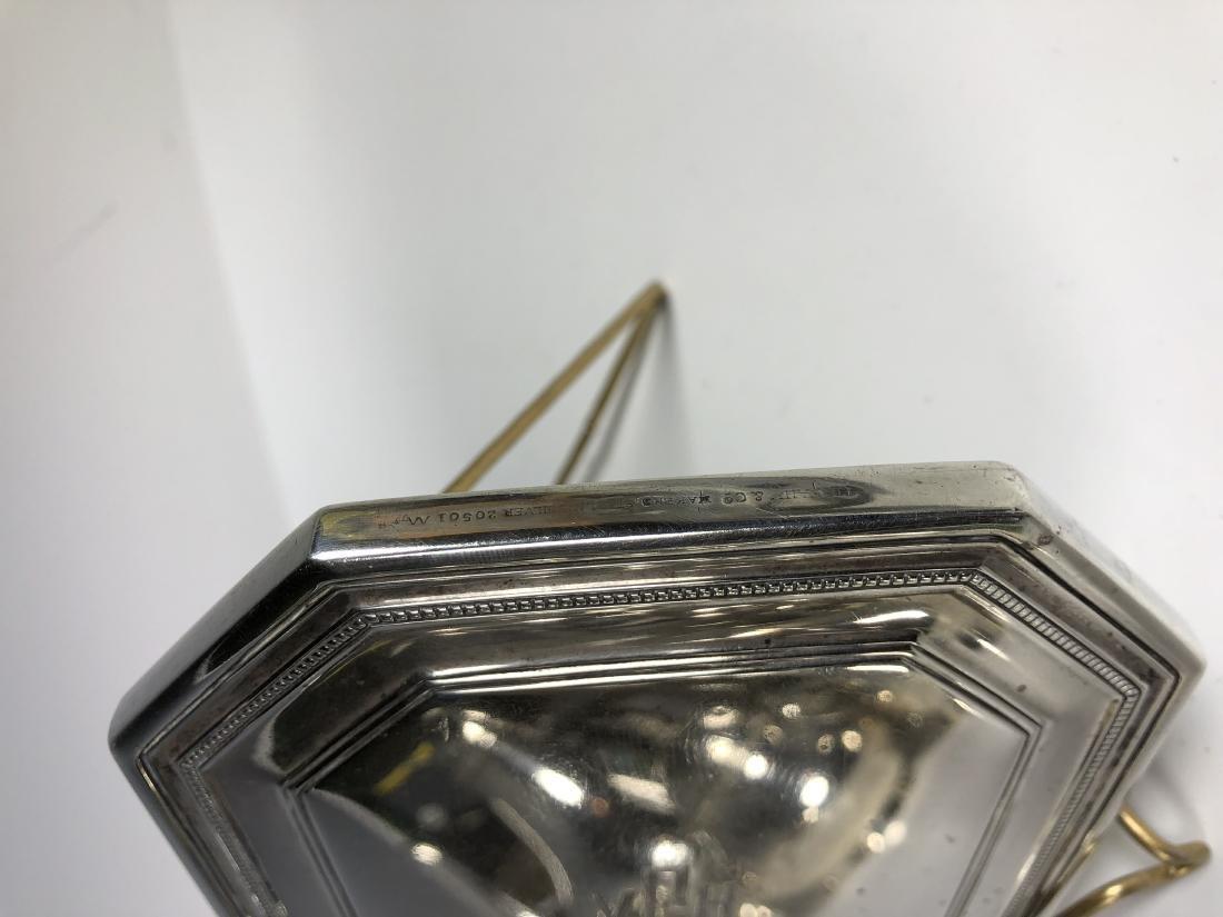 Tiffany & Co. Silver Hand Mirror - 6