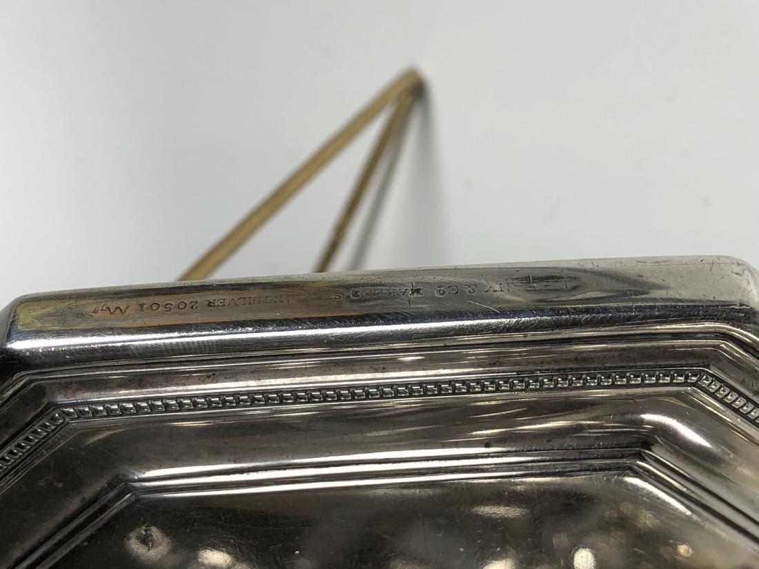 Tiffany & Co. Silver Hand Mirror - 7