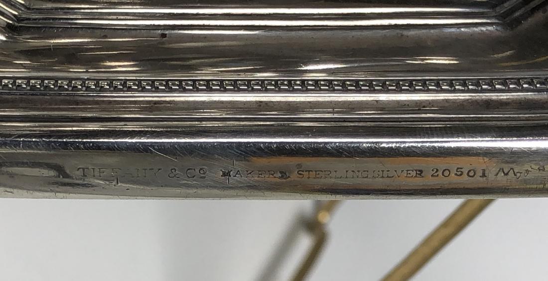 Tiffany & Co. Silver Hand Mirror - 8