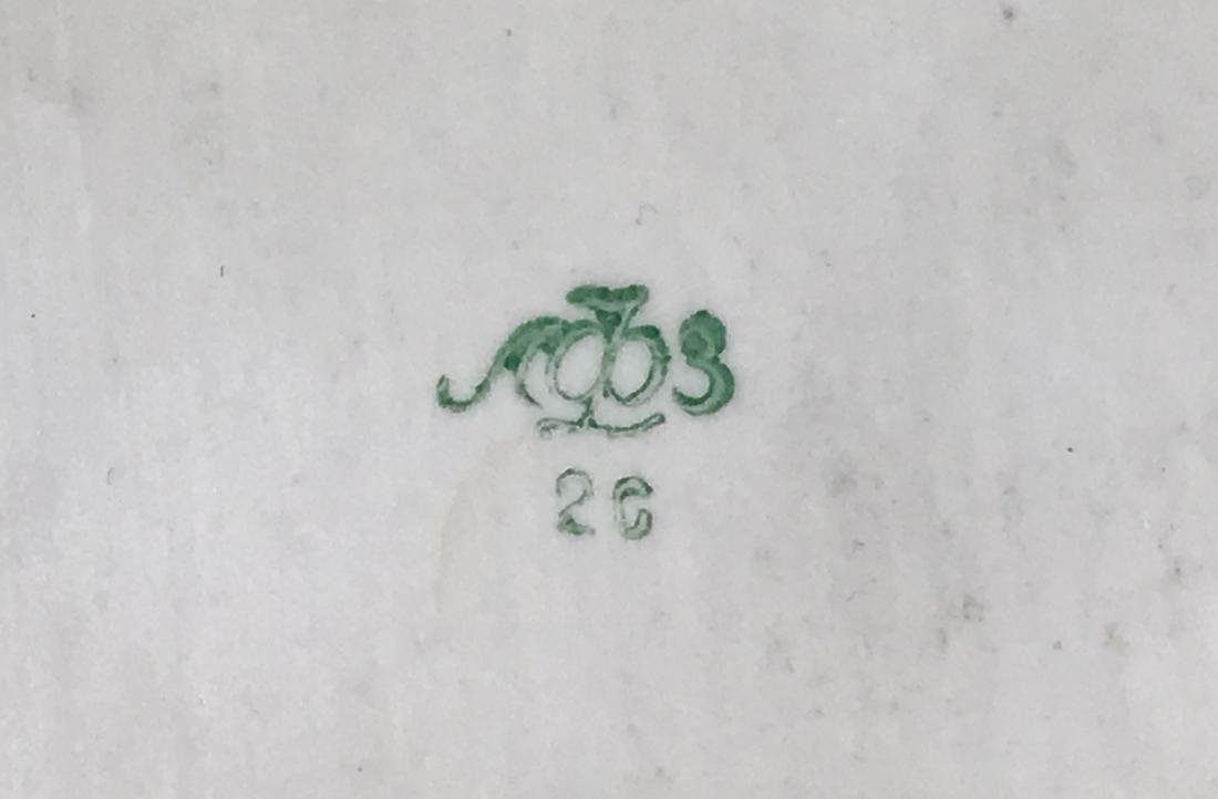 White Porcelain Moose - 13