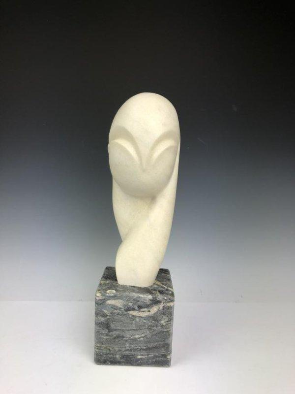Marble Sculpture Signed C. Brancusi 1936