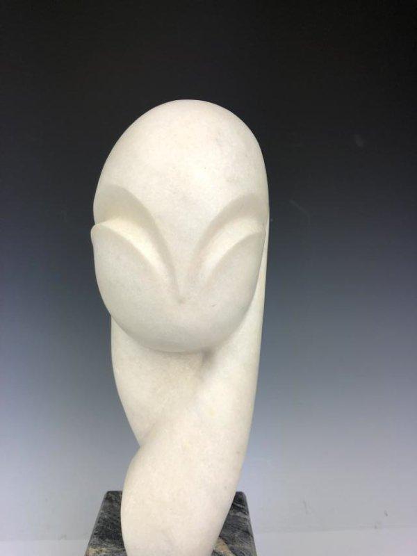 Marble Sculpture Signed C. Brancusi 1936 - 2
