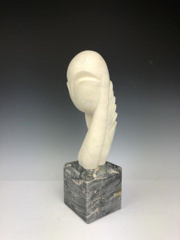 Marble Sculpture Signed C. Brancusi 1936 - 3