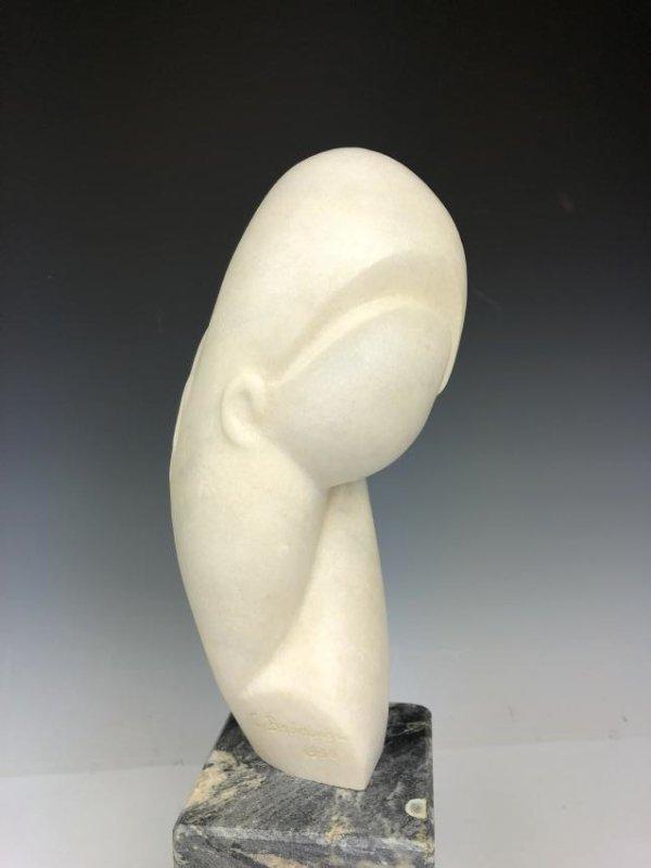 Marble Sculpture Signed C. Brancusi 1936 - 6