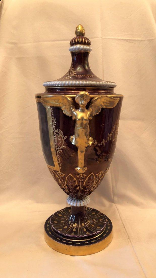 A poceline Vase 'Royal ' - 2
