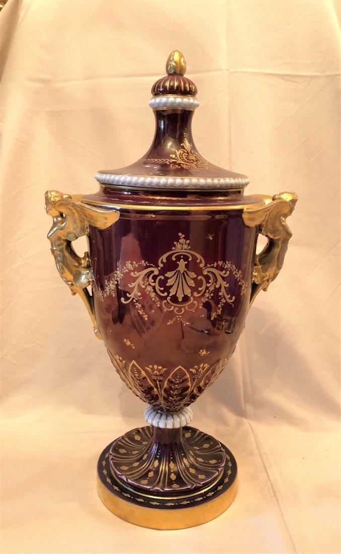 A poceline Vase 'Royal ' - 4