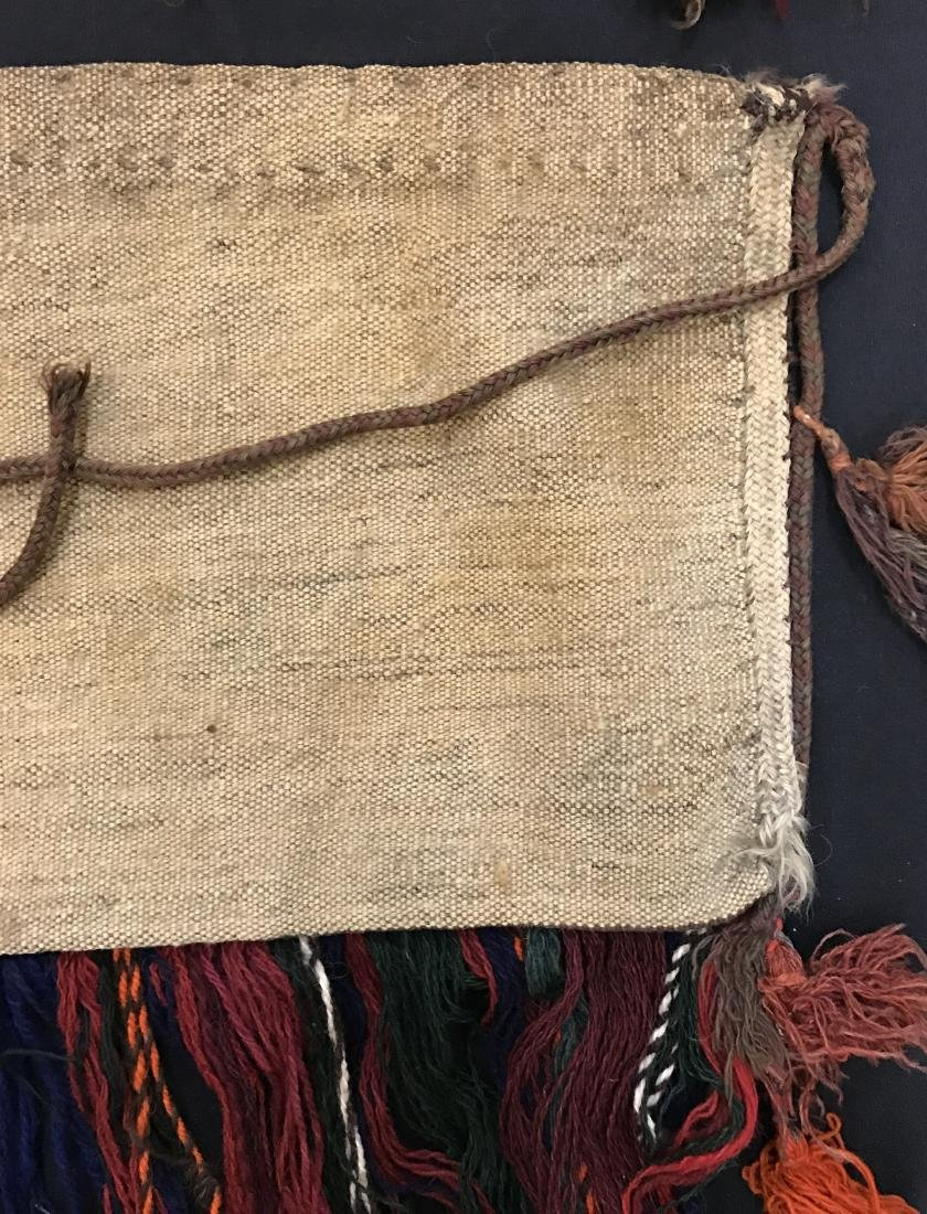 Pair of Turkish  Wool Camel Chuval Bags - 10