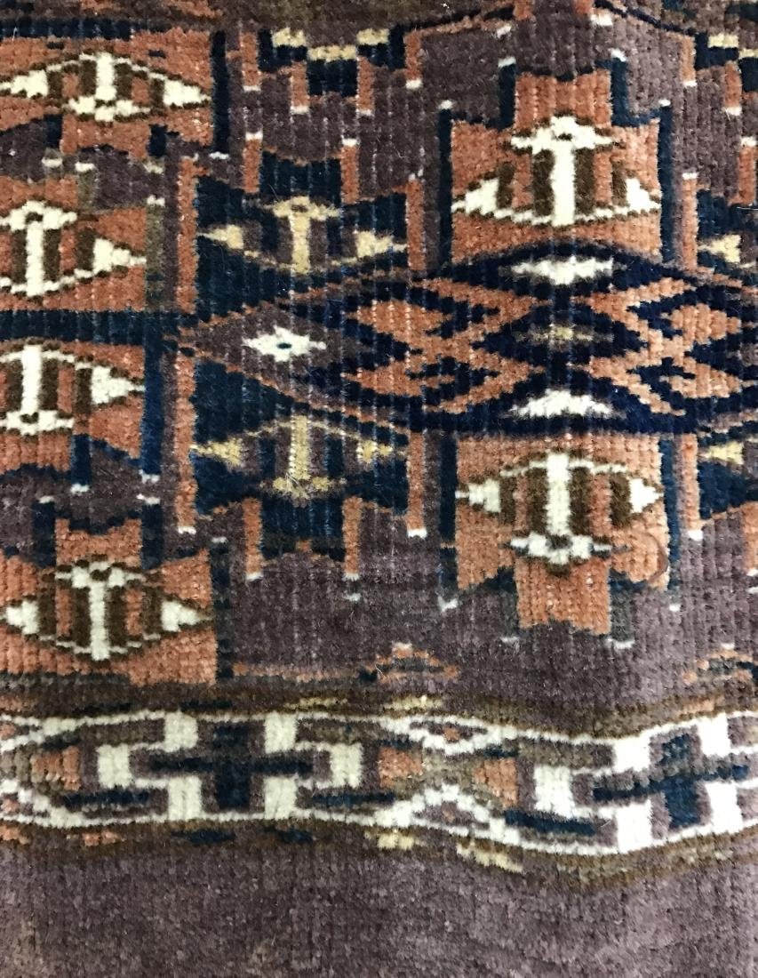 Pair of Turkish  Wool Camel Chuval Bags - 5