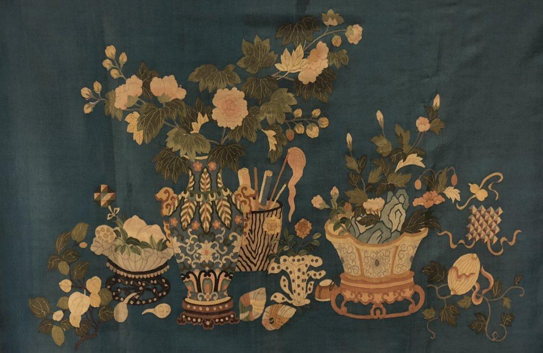 An KESI Panel of Flowers