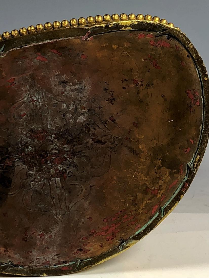 Gilt Bronze Figure of Tara - 10
