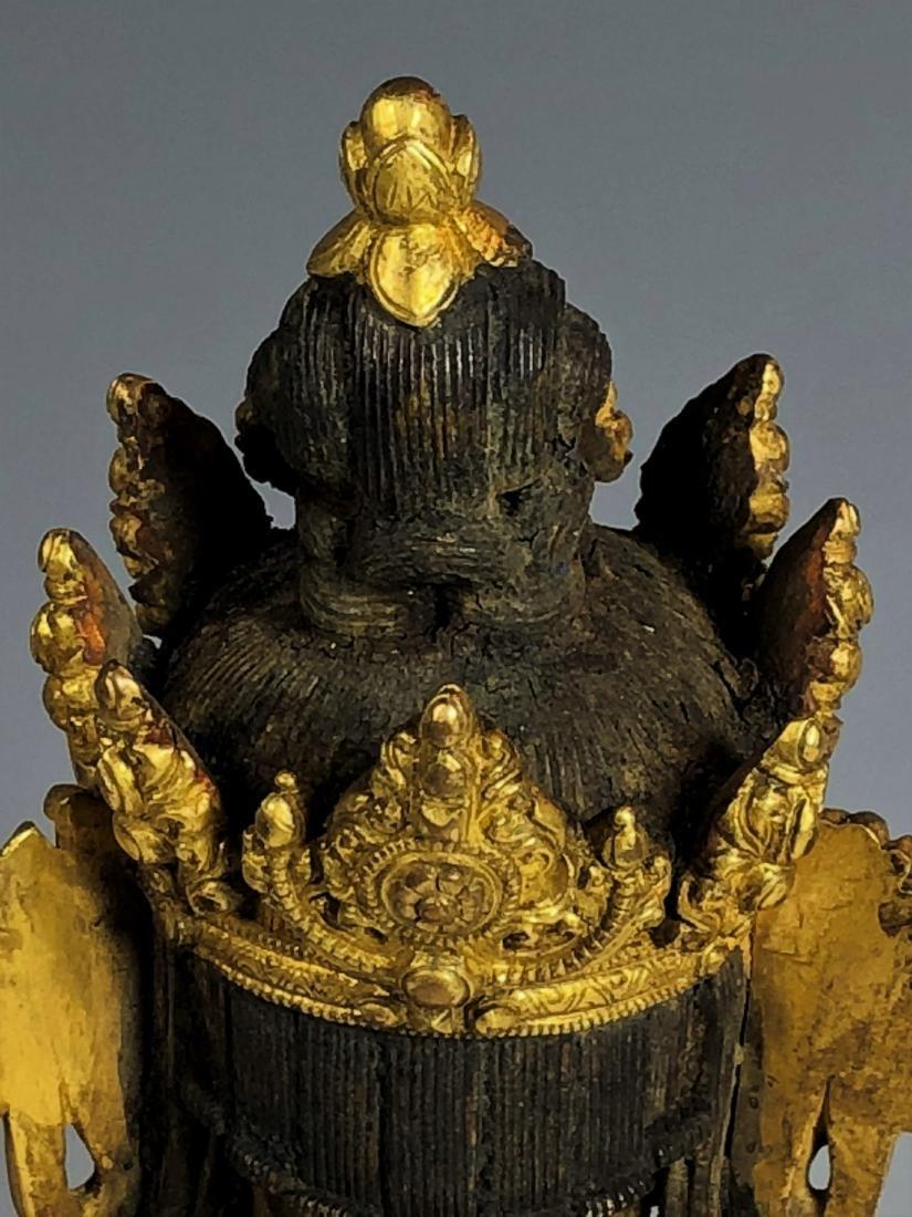Gilt Bronze Figure of Tara - 7