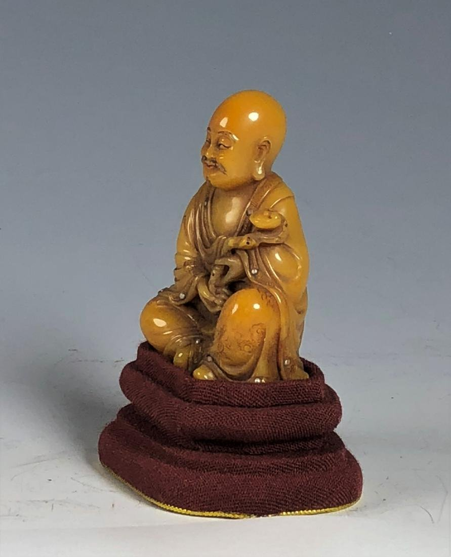 Soap Stone Figure of Buddha - 4