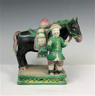 Figure of Horse and Rider