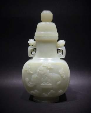 White Jade Vase