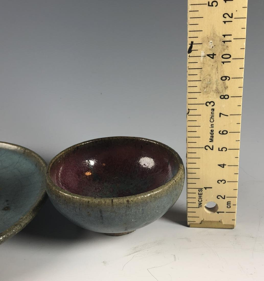 Jun Glazed Cup and Cup Stand - 10