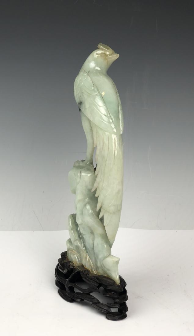 Carved Jadeite Bird - 3