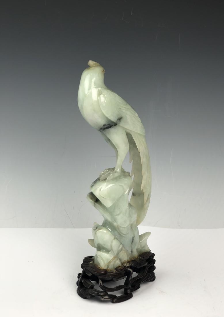 Carved Jadeite Bird - 5