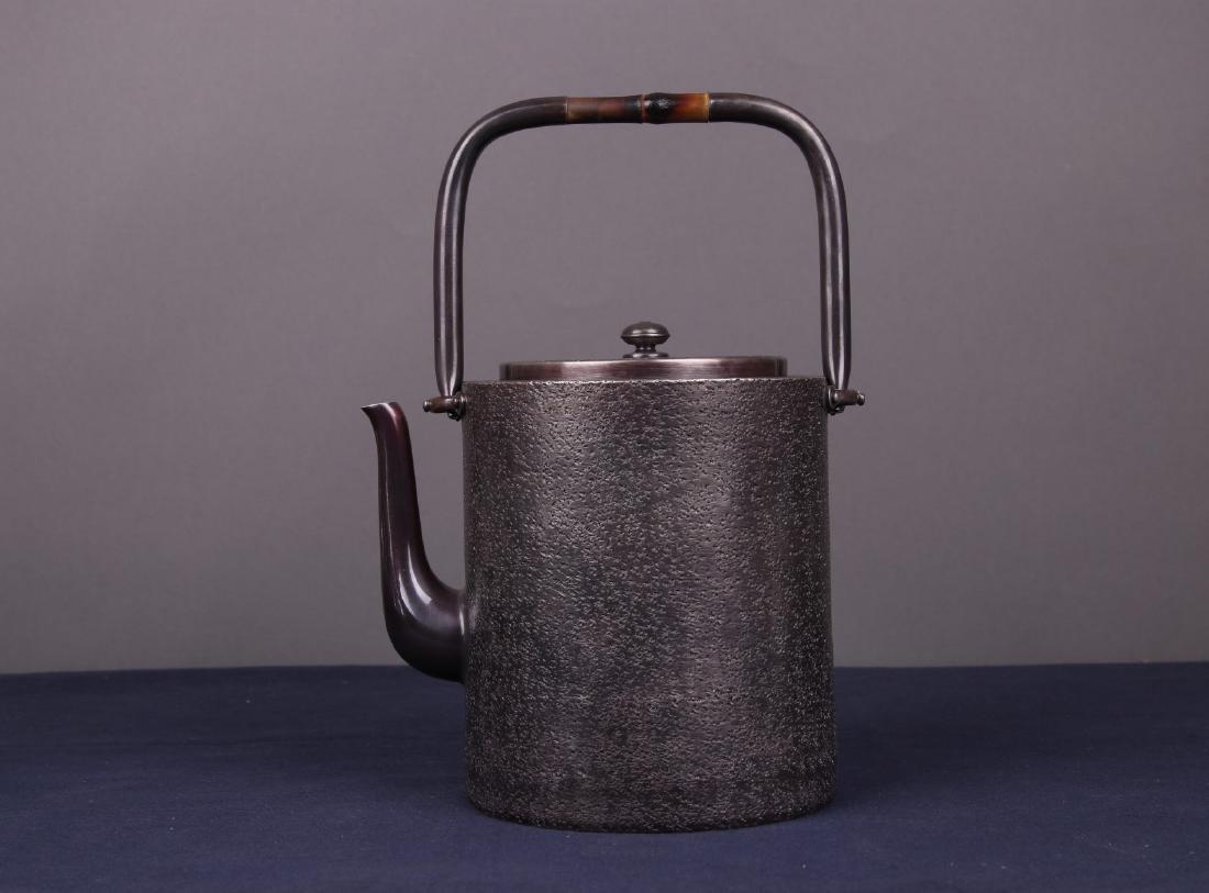 Japanese Silver Teapot
