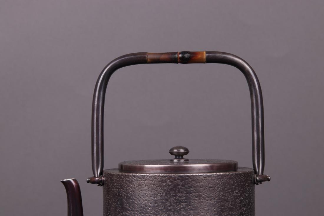 Japanese Silver Teapot - 3