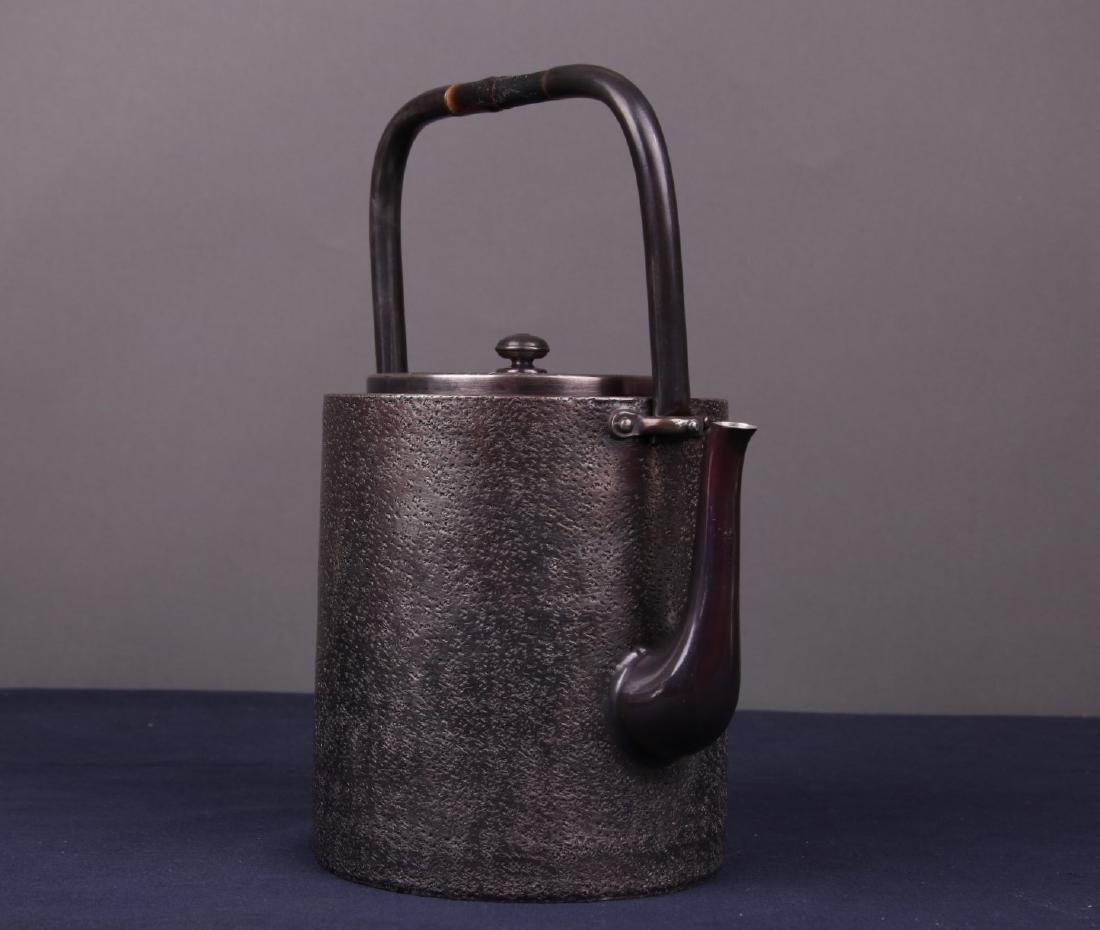 Japanese Silver Teapot - 5