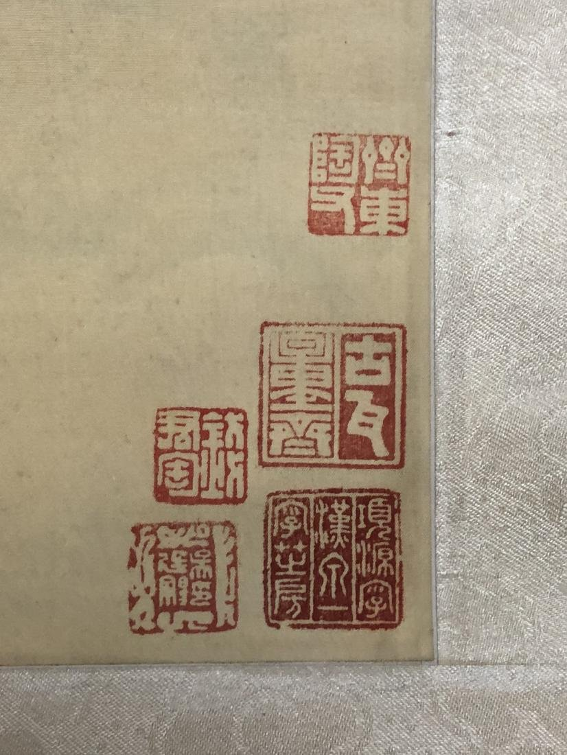 CHINESE INK ON PAPER PAINTING SIGNED BY - 6