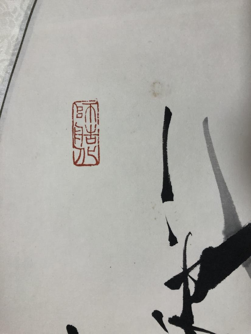 CHINESE INK ON PAPER PAINTING SIGNED BY - 3