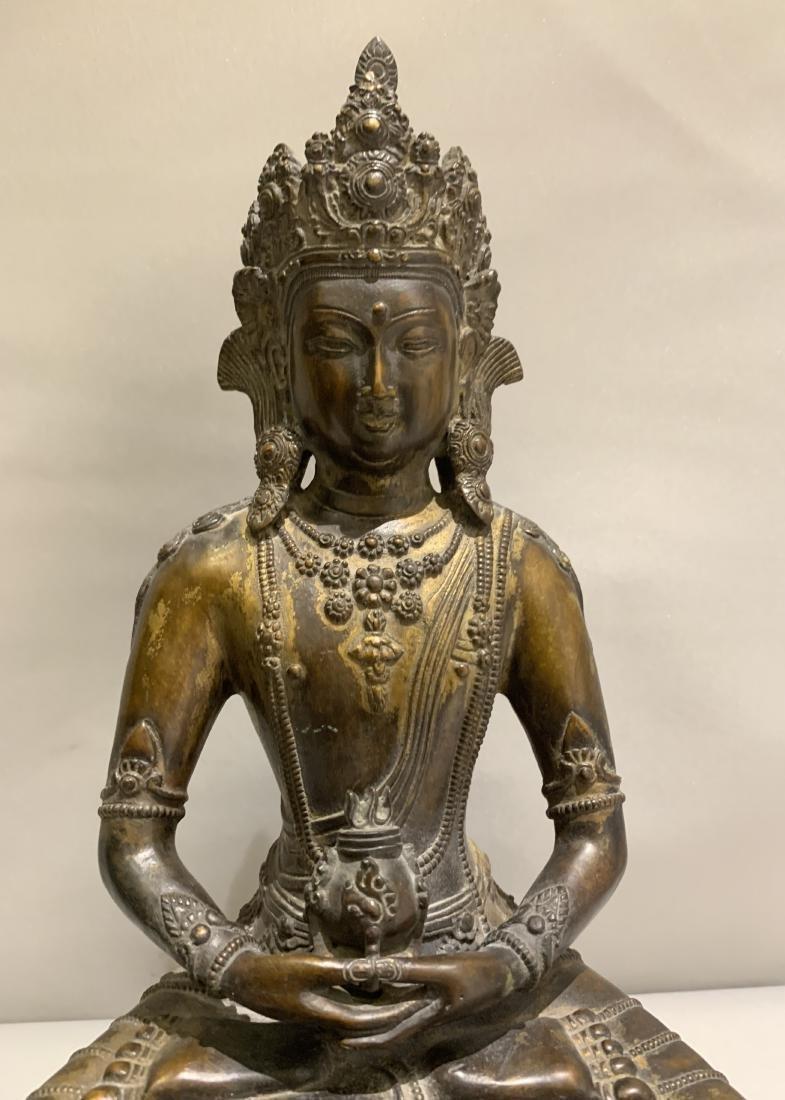 Bronze Figure Of Buddha - 2