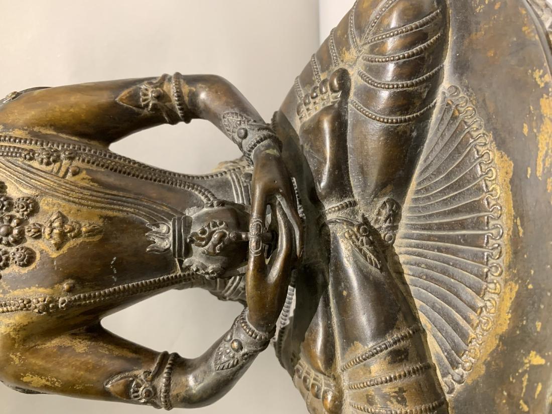 Bronze Figure Of Buddha - 3