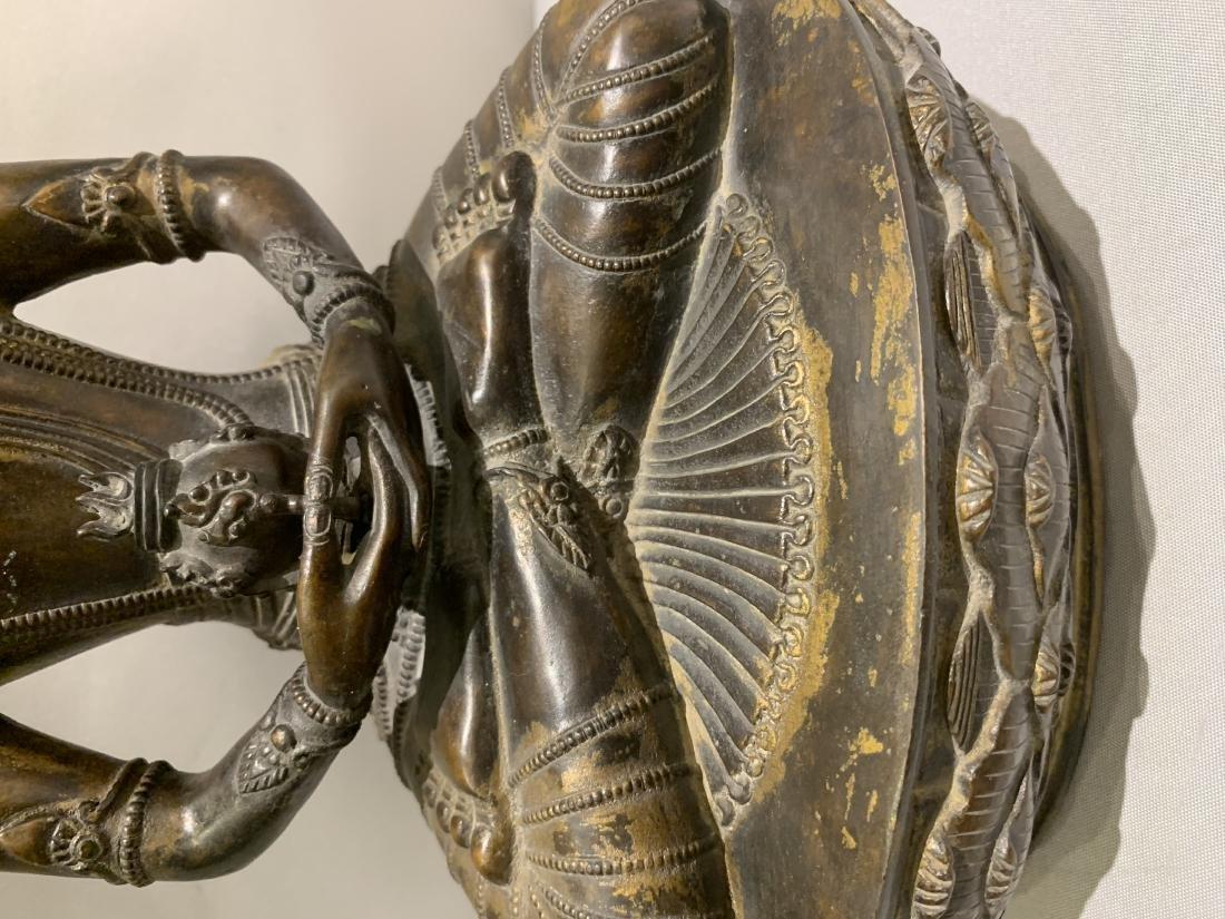 Bronze Figure Of Buddha - 4