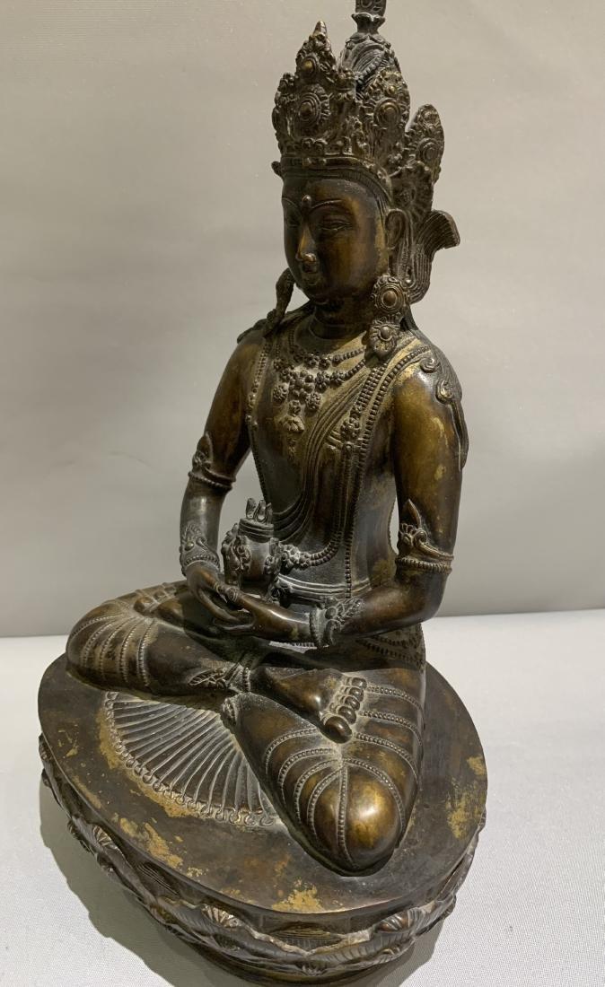Bronze Figure Of Buddha - 5