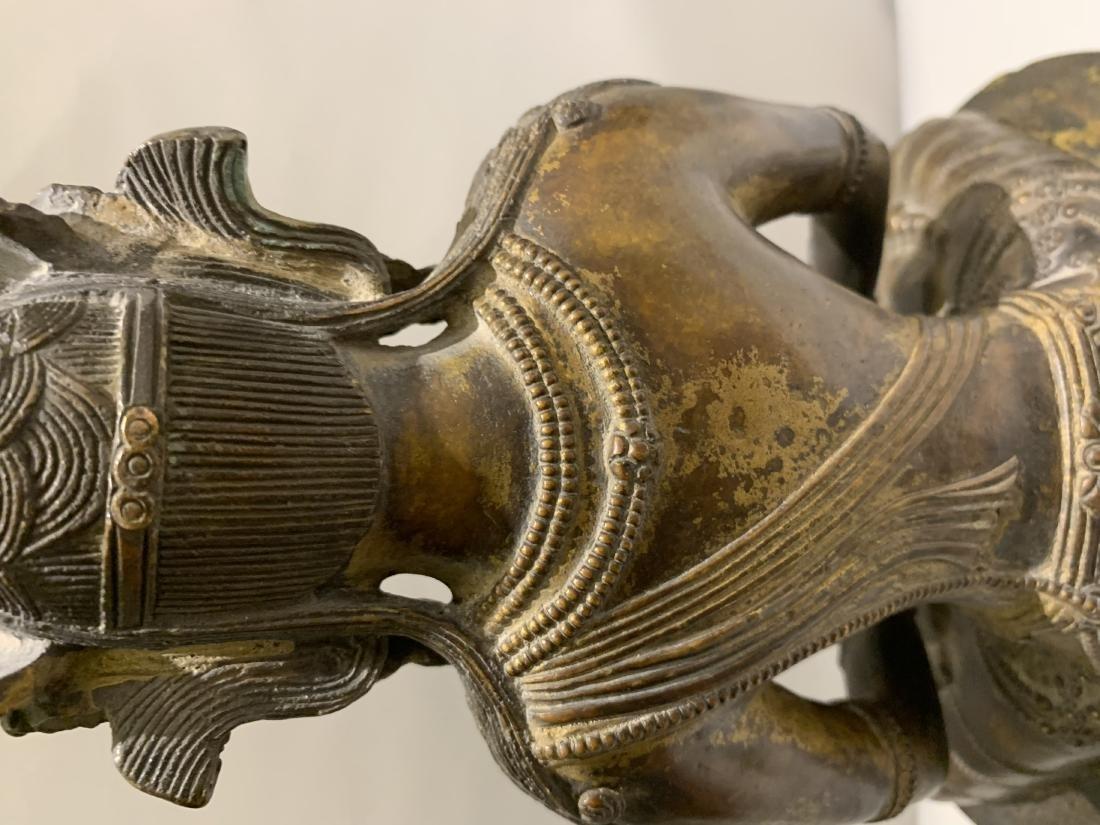 Bronze Figure Of Buddha - 6