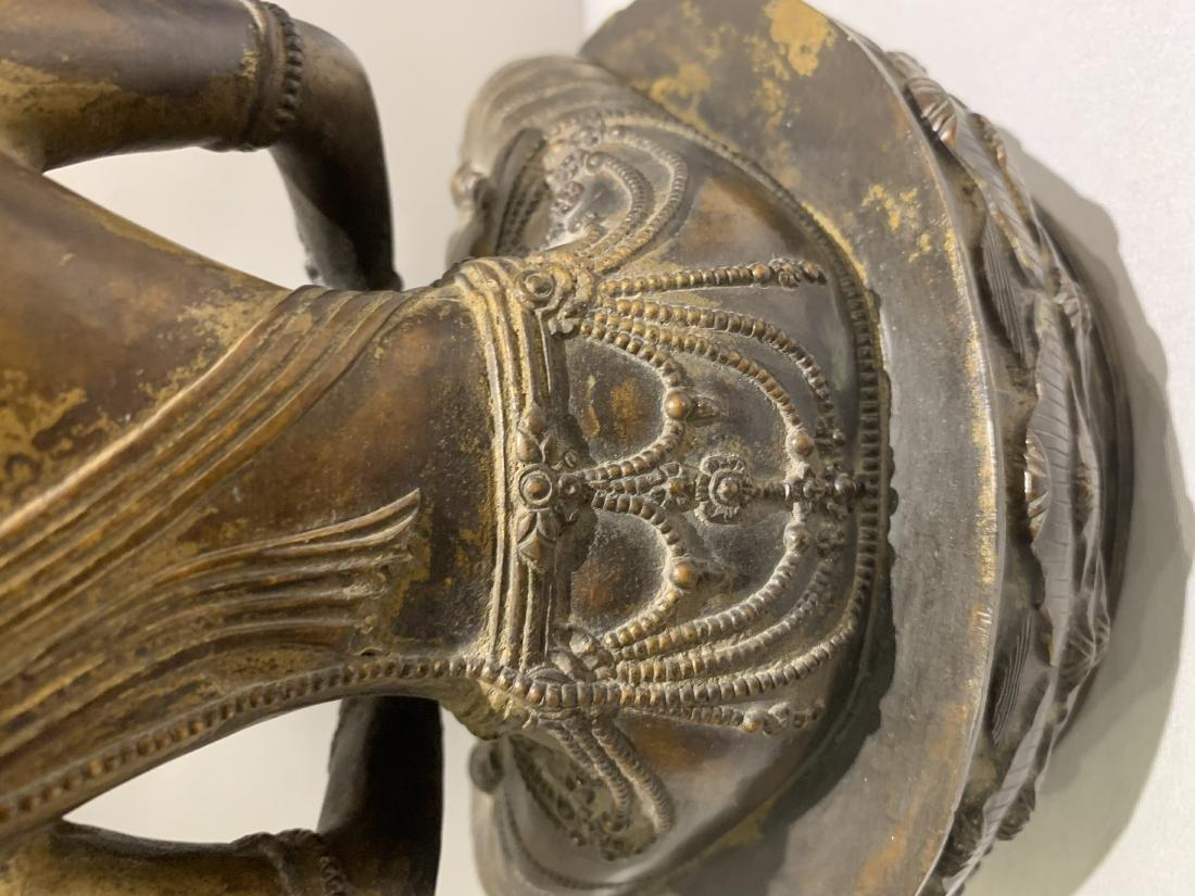 Bronze Figure Of Buddha - 7